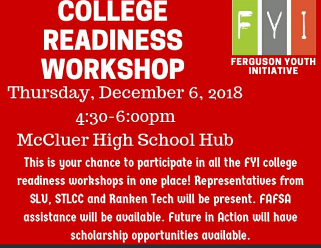 FYI College Readiness Workshop
