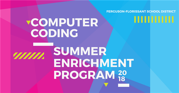A banner promoting the Computer Coding program.