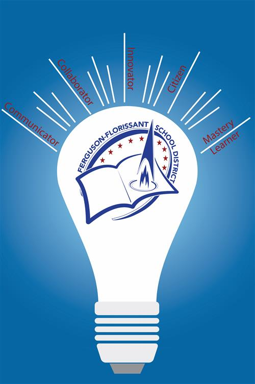 Light Bulb Graduate Profile Graphic