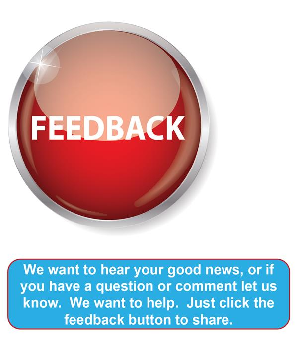 Feedback Button for Comments