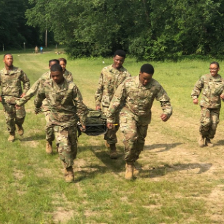 MCCLUER ARMY JROTC CADETS COMPLETE LEADERSHIP CHALLENGE